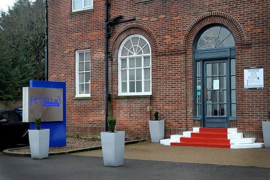 Scotch Corner, UK: Fratello's Restaurant Entrance
