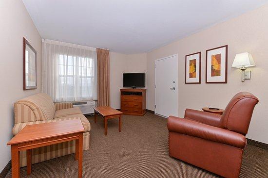 Candlewood Suites Elmira Horseheads: Suite