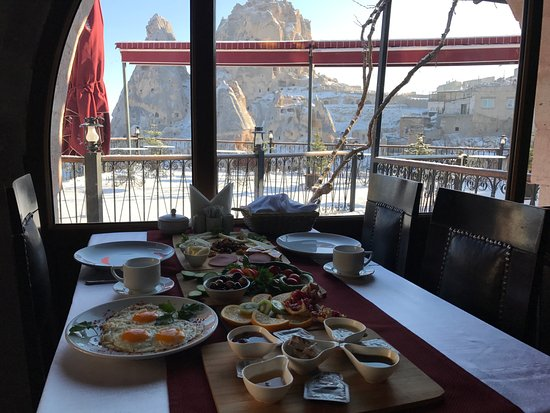 Hermes Cave Hotel: Kahvaltı
