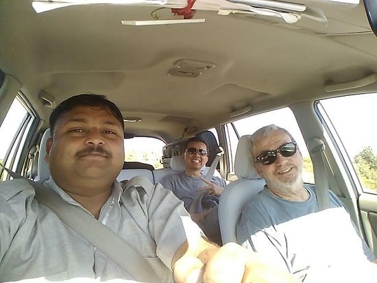 Unseen India - Private Day Tours: Pratap, our driver, taking us to our next destination.