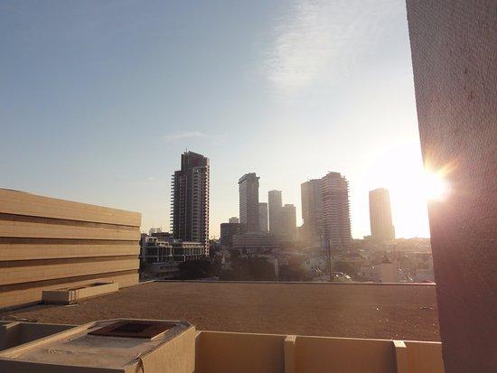 Dan Panorama Tel Aviv: vista verso la città.