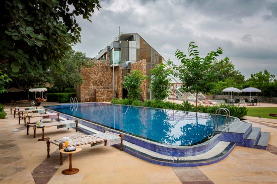 Ranakpur, Indien: Swimming Pool