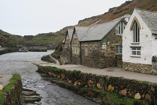 Boscastle estuary