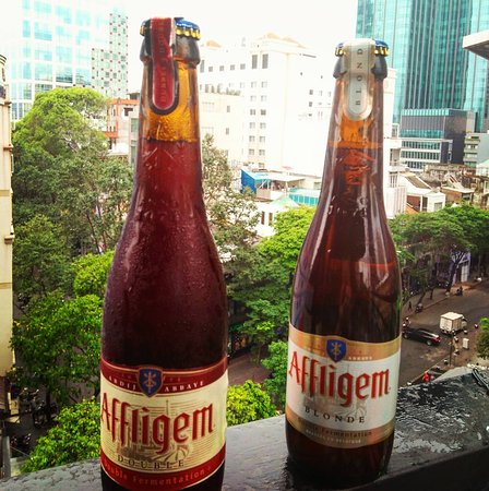 Affligem Blonde And Double Belgium Abbey Brew Picture Of Chanh