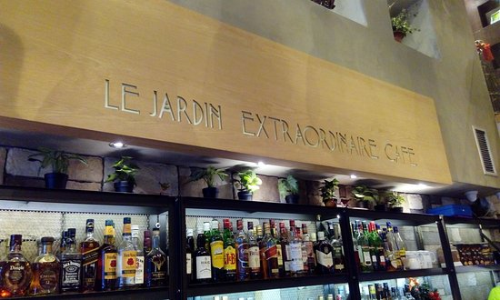 Photo of Restaurant Le Jardin Extraordinaire Cafe at Παλαιών Πατρών Γερμανού 8, Thessaloniki 546 22, Greece