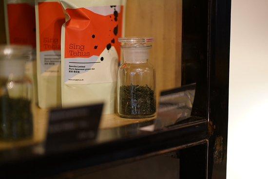 Tee preparation desk - Billede af Sing Tehus, København - TripAdvisor