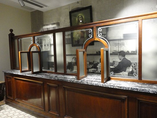 the old post office counter - Picture of Malta Postal Museum ...