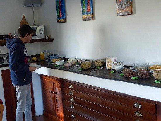 Eikenhof, Sydafrika: Buffet petit déjeuner