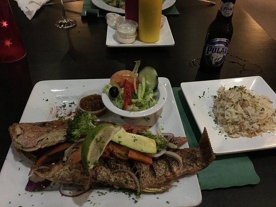 The Greenhouse Restaurant : Heerlijke Red Snepper