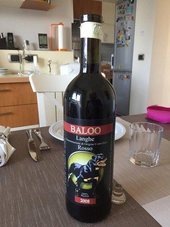 Pezzolo Valle Uzzone, Italy: Baloo 2008, vendemmia a cui ha partecipato Francesco Musajo Somma. Aperta oggi, eccezionale!