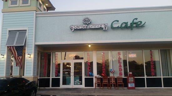 Secret garden cafe jacksonville beach restaurant Home and garden show jacksonville fl