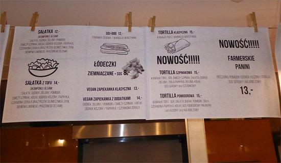 Menu Picture Of Farma Burgerownia Roslinna Krakow Tripadvisor Order food online at euro gyro, akron with tripadvisor: picture of farma burgerownia roslinna