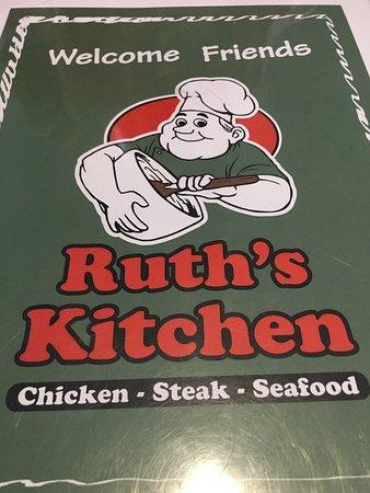 Ruth's Kitchen, Wilmington - Menu