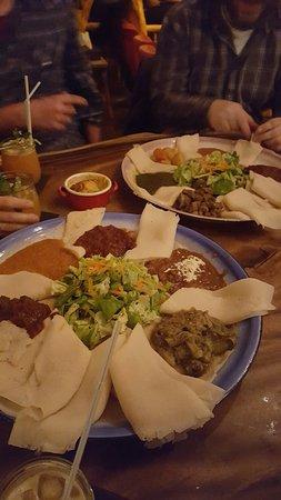 Im Herzen Afrikas: Menü für mehrere Personen.