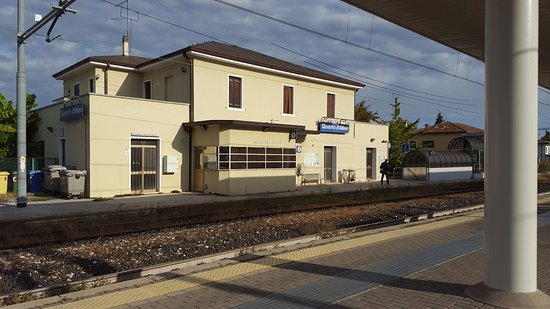 The Train Station Near The Hotel Which Serviced Directly Into Venice