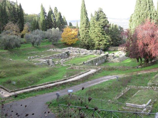San Domenico Fiesole : ruins