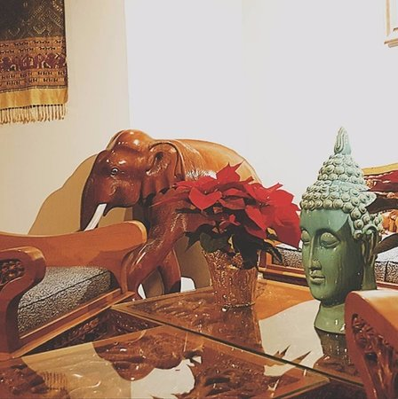 Authentic Teak Furniture And Hand Carved Elephant Made In