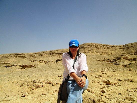 Wadi Degla will definitely put smile on your face