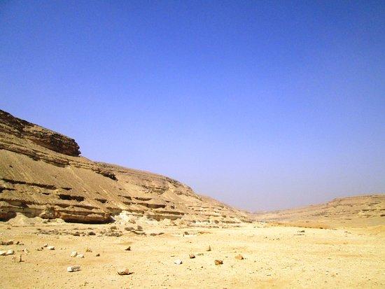 Wadi Degla: Layers everywhere