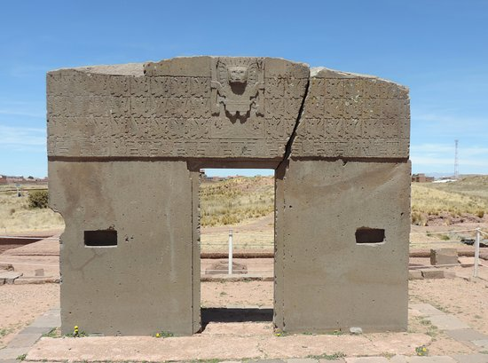 Puerta del sol picture of tiwanaku la paz tripadvisor for Puerta 4 del jockey