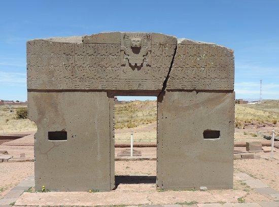 puerta del sol picture of tiwanaku la paz tripadvisor