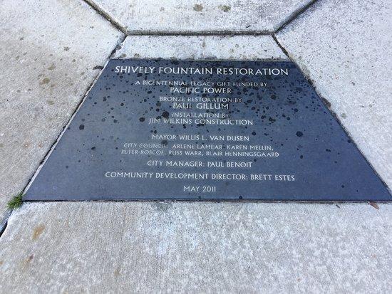 Maritime Memorial Park Fountain (marker).