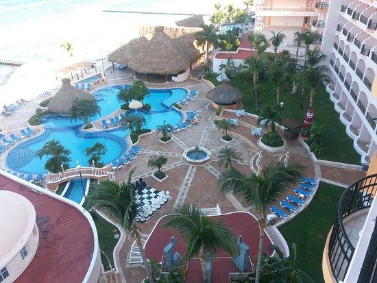 El Cozumeleno Beach Resort: Desde el piso 7.