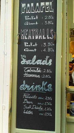 Love these falafellas!