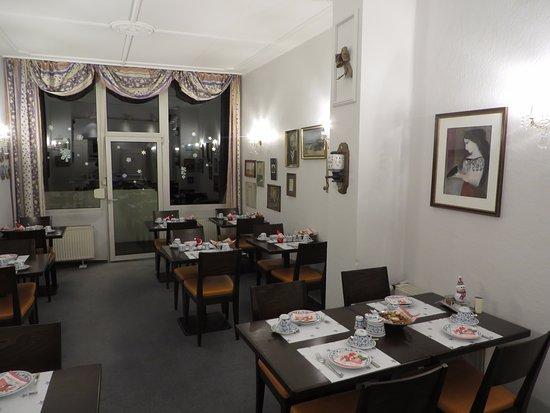 AKZENT Hotel Am Hohenzollernplatz: Frühstückszimmer
