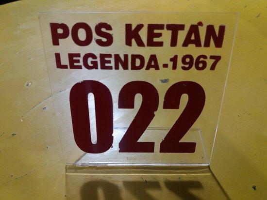 My lucky number - Picture of Ketan Legenda Batu, Batu - TripAdvisor