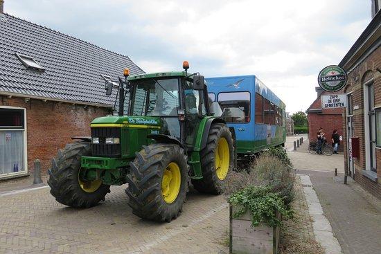Marrum, The Netherlands: De kwelderkar van de Seedykstertoer in Alde Leie