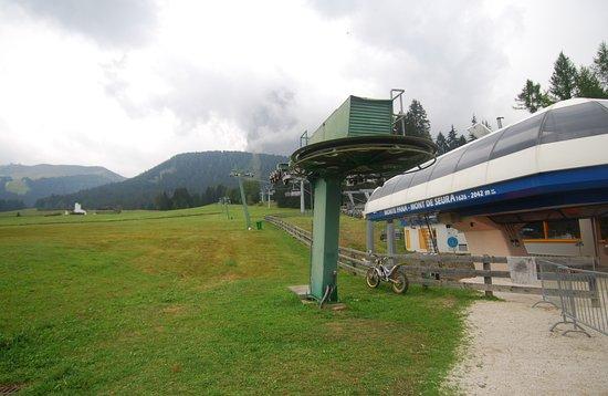 Seggiovia Santa Cristina - Monte Pana
