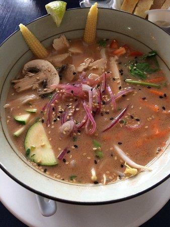 Bonaventure, Canadá: Super soupe thaï!