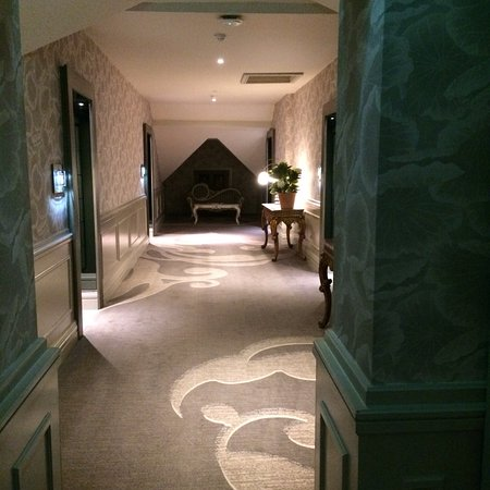 Corridor from lift to room