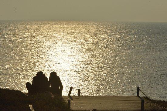 Prefailles, Frankreich: Les couchers de soleil romantiques
