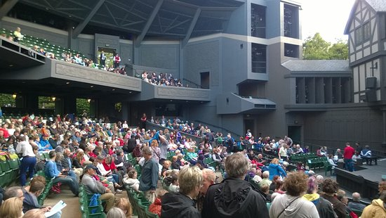 Oregon Shakespeare Festival : Audience at the Main Stage