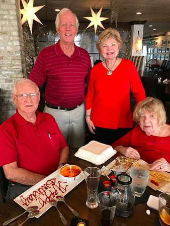 Sebring, FL: Birthday Luncheon for my stepfather who turned 91!