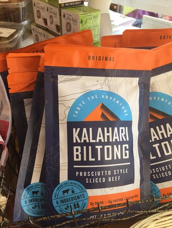 Belmont, MA: Traditional African beef jerky made by a local company, no chemicals
