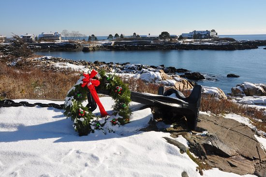 Kennebunkport, ME: December at Walkers Point