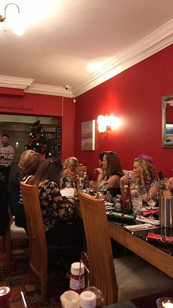 Works Xmas meal