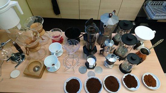 Cappuccino & Espresso Course & Tour: Filter Kaffee Varianten