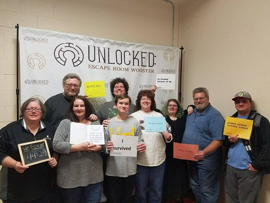 ‪Unlocked: Escape Room Wooster‬