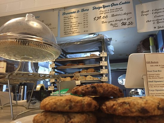 Milk and Cookies Bakery: view from cookies