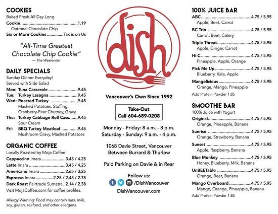 dish vancouver davie village restaurant reviews phone number photos tripadvisor