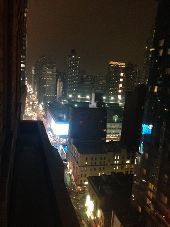 Row NYC Hotel: View from the room