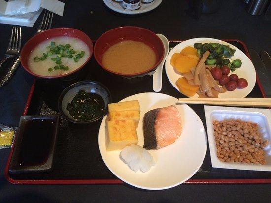 Japanese Breakfast... yummm