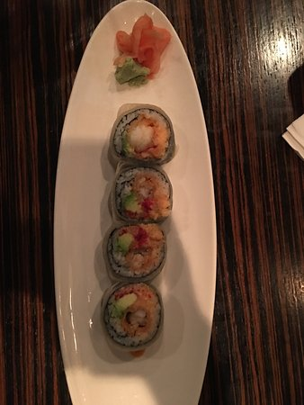 Newtown, Pensilvania: Chef's special sushi
