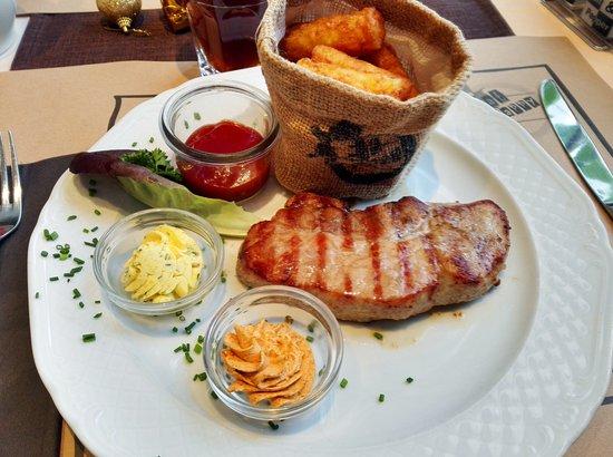 Schoenenwerd, Suiza: Restaurant Fat'n'Happy