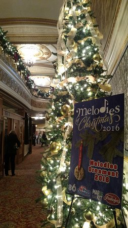 Melodies of Christmas marquis - Picture of Proctor's Theater ...