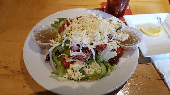 East Windsor, CT: Greek Antipasto Salad